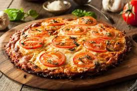 Receta de base de pizza de berenjenas con tres veces menos calorías