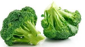 Brócoli al horno con ajo y limón