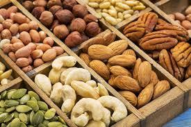 Vocabulario de los frutos secos en español | ProfeDeELE